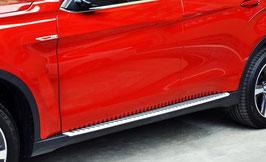 Kit 2 Pedane Laterali Sottoporta OEM Look BMW X4 F26 2014-17