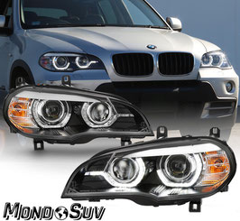 Kit Fanali Anteriori Angel Eyes PWL® Xenon BMW X5 07-10