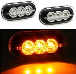 Kit Indicatori Laterali Frecce LED Dacia Duster 2010-17 Design Nero