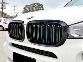 Kit Calandre Griglie Anteriori BMW X5 F15 2014-2018