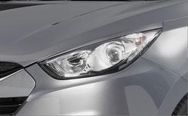 Set 2 Carene Palpebre Fari Hyundai iX35 2009-2015