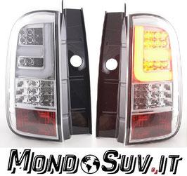 Fanali Stop Posteriori Full LED Cromati Dacia Duster 2010-2017