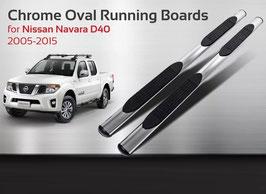 Kit 2 Pedane Laterali Minigonne Nissan Navara 2006-2010