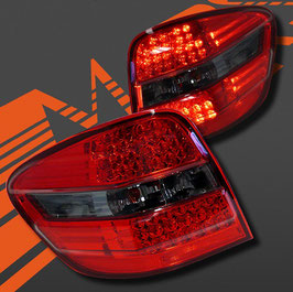 Kit 2 Fanali Stop Posteriori LED Smoke Red Mercedes ML 05-08