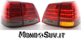 Kit 2 Fanali Stop Posteriori LED Smoke Red Toyota Land Cruiser 07-08