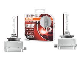 Ricambio Lampadine Xenon Osram D1S Night Breaker Laser 4600K