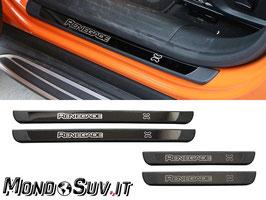 Kit 4 Battitacco Porte Decorazione Jeep Renegade 2014-2019