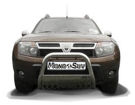 Rollbar Bull Bar Protezione Anteriore Inox Dacia Duster 2010-2017