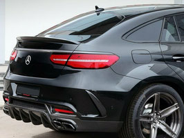 Spoiler Lip AMG Look Mercedes GLE Coupe C292 2015-2018