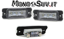 Kit 2 Luci Targa LED Canbus Mercedes GL X164 06-12