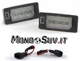 Kit 2 Luci Targa LED Canbus BMW X5 E70 07-13