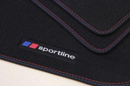 Set 4 Tappeti Auto Moquette SportLine BMW X1 E84