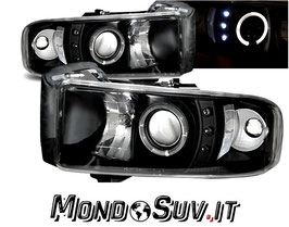 Kit Fanali LED Luci Anteriori Look Dodge Ram 1994-2001