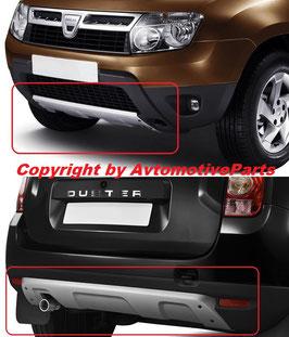 Kit 2 Cover Protezione Paraurti Anteriore Dacia Duster 2010-2013