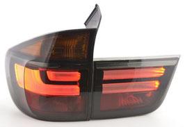 Kit 2 Fanali Stop Posteriori LED Celis Neri BMW X5 E70 07-10