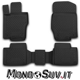 Set 4 Tappeti Auto Gomma con Bordo Mercedes ML 06-11