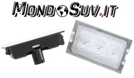 Kit 2 Luci Targa LED Canbus Land Rover Discovery 3 04-09