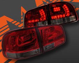 Kit 2 Fanali Stop Posteriori LED Smoke Red VW Touareg 02-09
