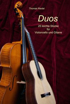"""Buch """"Duos"""" - für Violoncello und Konzertgitarre"""