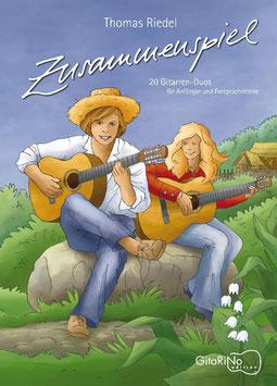 """Buch """"Zusammenspiel"""" 20 Gitarrenduos"""