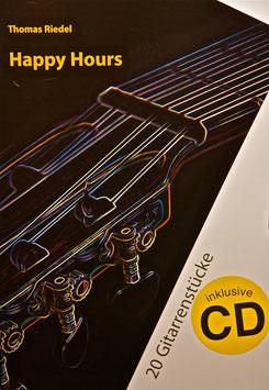 """Buch mit CD """"Happy Hours"""" - 20 Gitarrenstücke"""