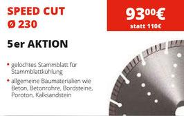 Speed Cut Trennscheiben Ø 230 -  5er Aktion