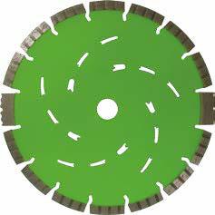 AGGRESSOR - Trennscheibe 15 mm hohen Premiumsegmenten mit Schutzsegmenten