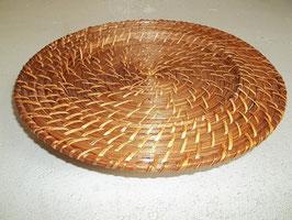 1 Stück Platzdeckchen, Platzset, Telleruntersetzer aus Rattan
