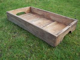 Tablett aus recyceltem Holz