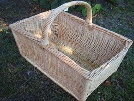 Einkaufskorb, Holzkorb, Austragekorb aus deutscher Produktion