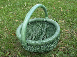 Kinderkorb, Streukörbchen aus Rattan-Peddigrohr