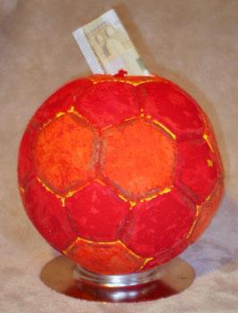 Handball! Spardose oder Wettkasse?