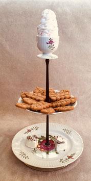 Tolles ostfriesisches Geschirr, mit Ei oder Muffin