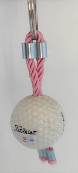 Golfbälle als Schlüsselanhänger