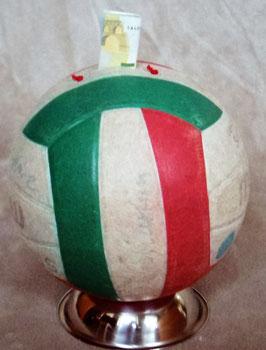 Volleyball! Spardose oder Mannschaftskasse? Molten Rot-Weiß-Grün