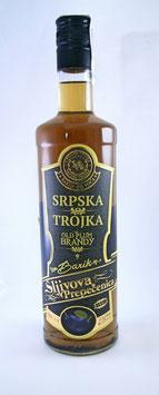 Барик шљивовица Српска тројка 0.75л, 0.45% алк.