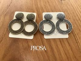 Orecchini in argento con perno O69