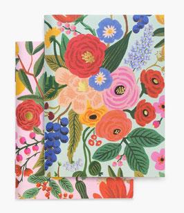 Rifle Paper Co. Pocket notebook set 2 'Garden party'