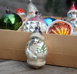 Kerstman zilver oud, gesuikerd