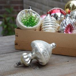 Ornament zilver mat/glans