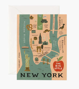 Rifle Paper Co. wenskaart 'New York'
