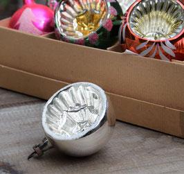 Deukbal zilver, glitter
