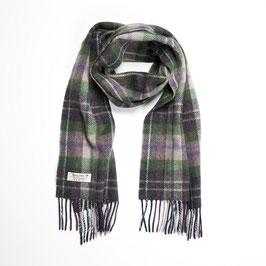 John Hanly sjaal, grijs/groen/beige