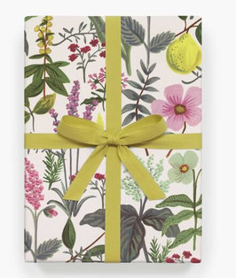 Rifle Paper Co. Gift wrap 'Herb garden'