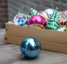 Kerstbal diepblauw