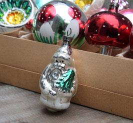 Kerstman zilver, gesuikerd