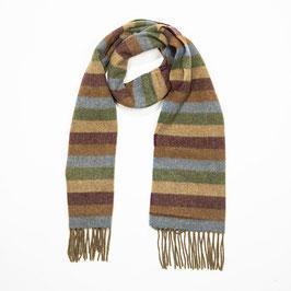 John Hanly sjaal, streep multi