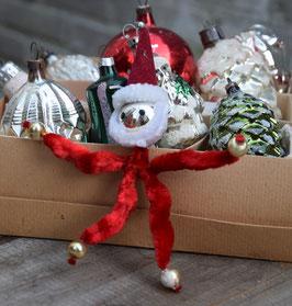 Gablonzer kerstman rood