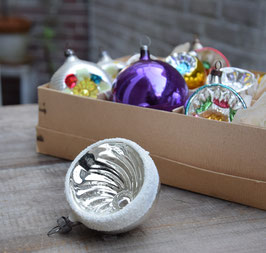 Deukbal swirl zilver, gesuikerd