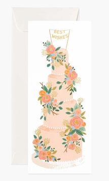 Rifle Paper Co. Wenskaart 'Tall Wedding Cake'